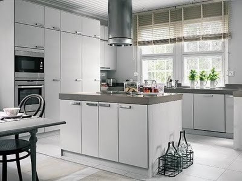 Scandinavian Kitchen Design, Provision And The Things Must Be Considered About Kitchen