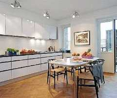 Cozy Kitchen Contemporary Scandinavian Style Home Design