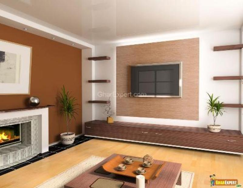 Living room walls paint ideas design bookmark 13191 for Wall designs for living room asian paints