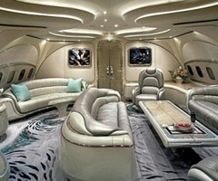 Wretched Excess Dept: The Interiors Of Private Jets : Tree Hugger