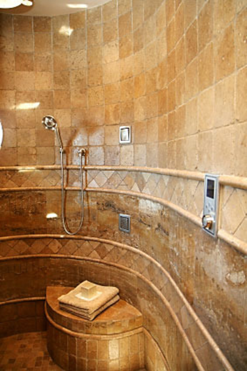 Luxury showers design bookmark 13243 for Shower and bathroom designs