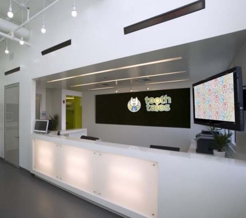Contemporary dental clinic interior design by evoke design for Dental office interior design