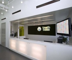Contemporary Dental Clinic Interior Design By Evoke Design  Home Design