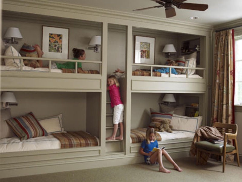 Bunk Beds For The Brood Great Ideas For Sleeping More