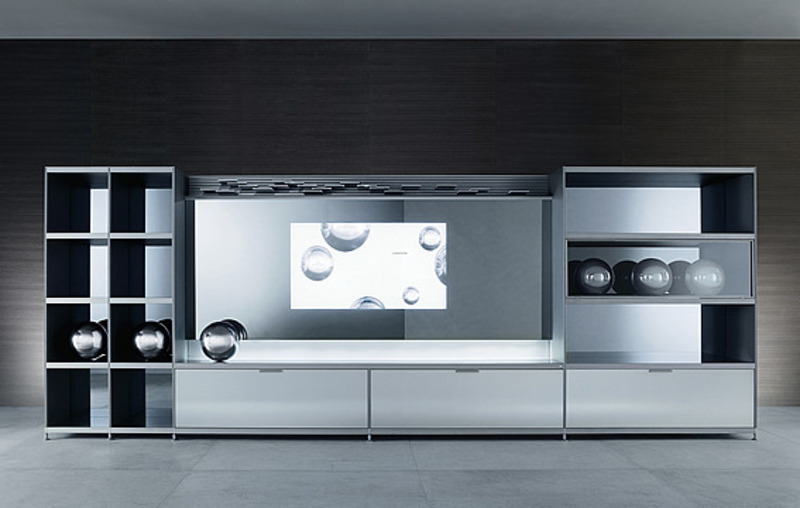 Modern Tv Cabinet Designs, Cartesia Wall Mounted Modern Tv Cabinets For Small Living Room Designs By Rimadesio