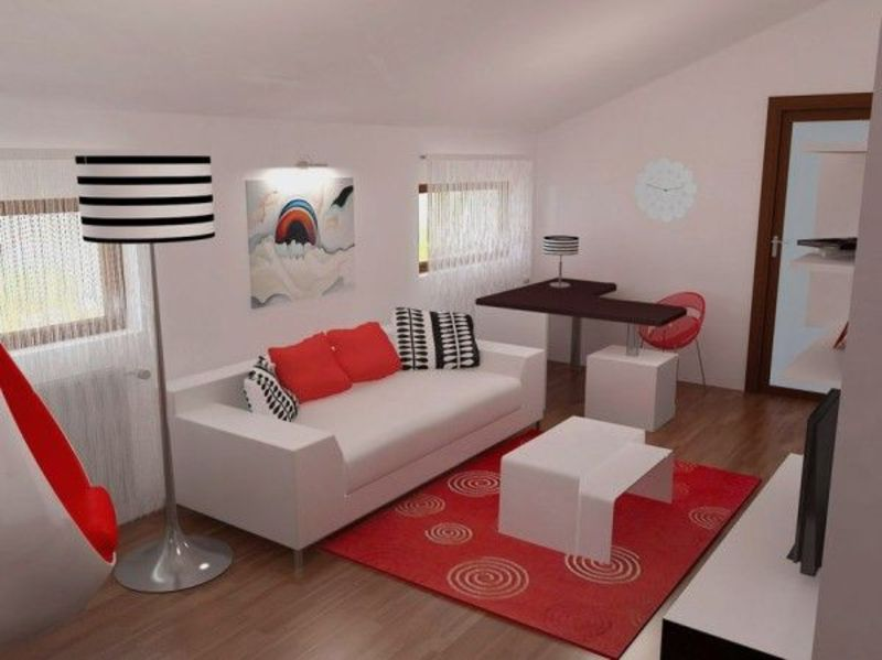 Red black and white for contemporary bedroom design for Red and black bedroom designs