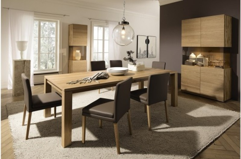 Home design cozy modern dining table design in innovative for Innovative dining table designs