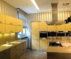 Yellow Kitchen Model Ideas / Sample Designs And Ideas Of Home House And Office