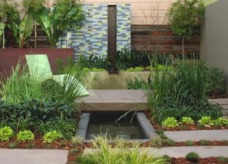 Modern ecological sunset garden landscape designs design for Modern garden ideas