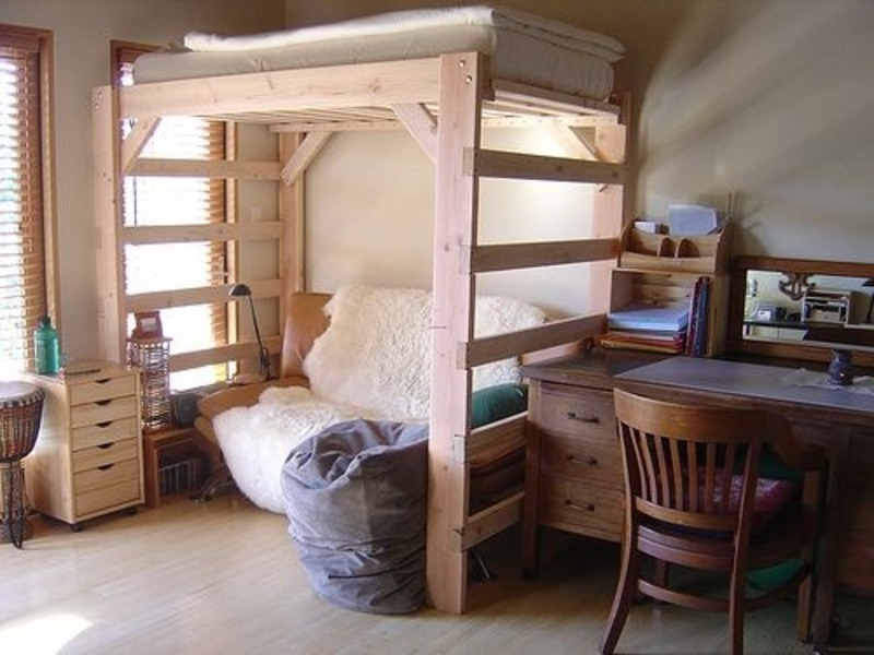 Lofts For College Dorm Rooms
