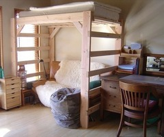Diy Project: How To Make A Loft Bed For Your Dorm Room