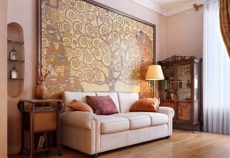 Large living room paint ideas modern house for Living room painting ideas