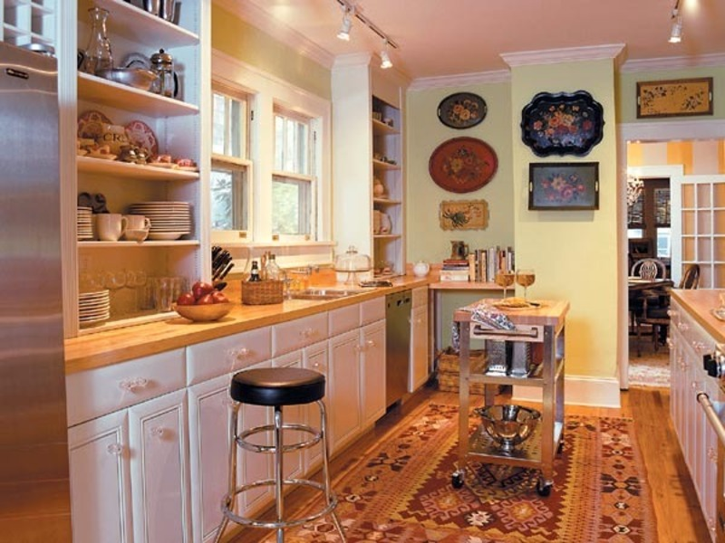 Small Galley Kitchen Designs, Cozy Galley Kitchen