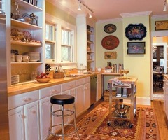 Cozy Galley Kitchen