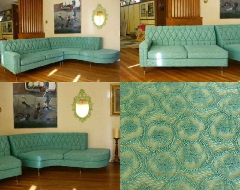 Mid Century Sofa Sectional Classified Ad Design Bookmark