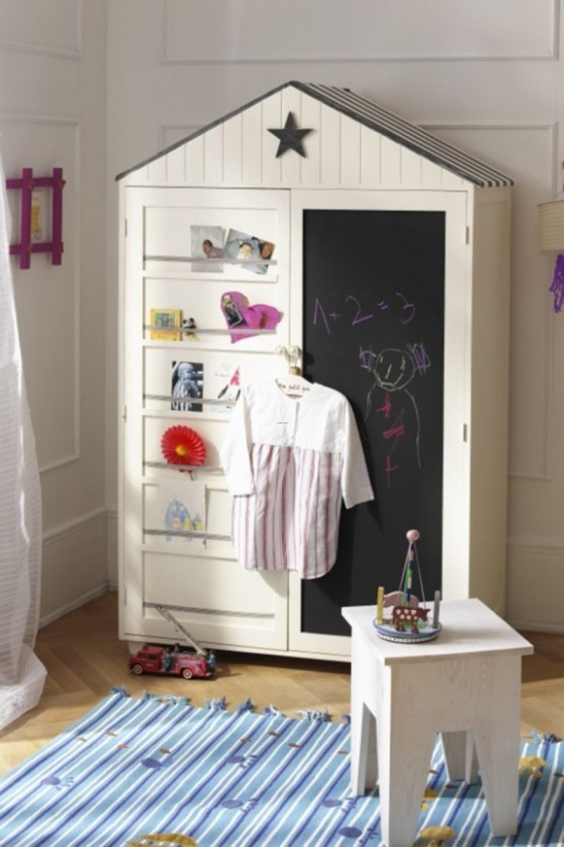 Wardrobe Designs For Kids, The Well Done Wardrobe Design Of  Eye