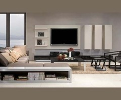 Stylish Entertainments Units And Tv Cabinets Of Genova Plasma Wall Unit