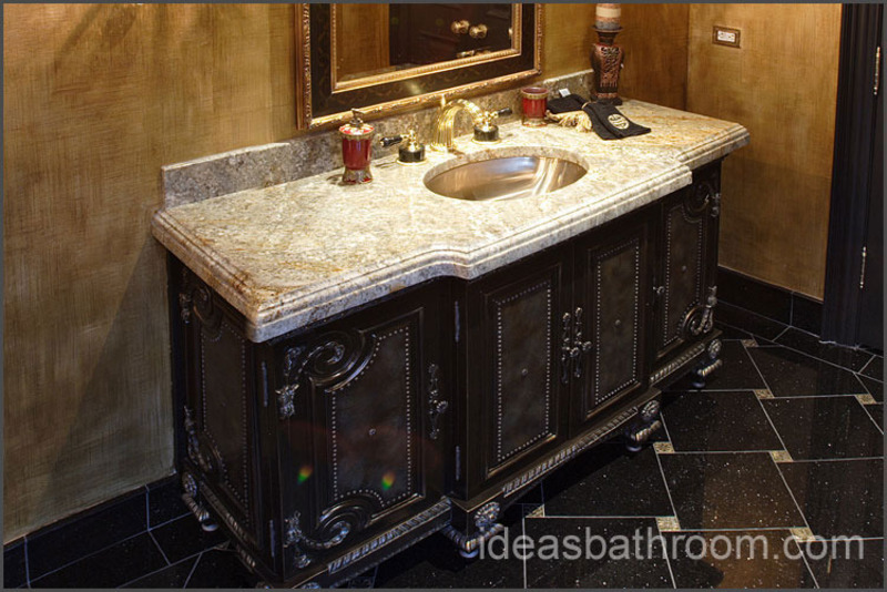 bathroom granite countertops ideas