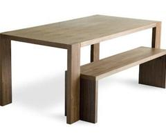 10 Easy Pieces: Modern Dining Tables And Benches : Remodelista