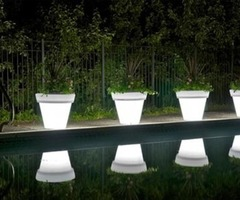 Led Light Pots: Plant A Colorful Glow