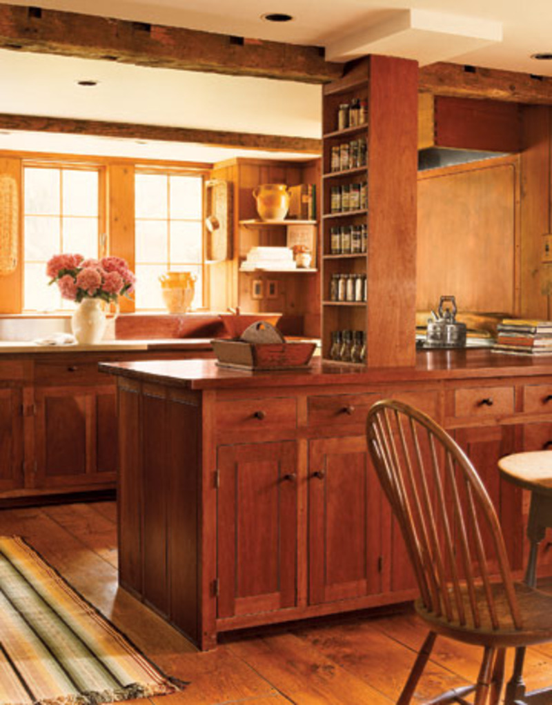 American Style Kitchen Decor And Model / Sample Designs