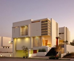 Contemporary Home Design With Beautiful View