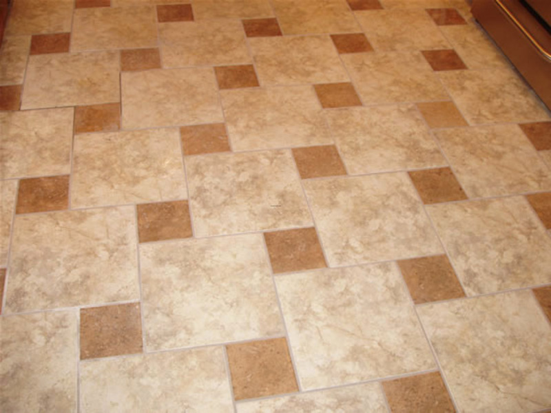 Kitchen floor tile patterns design bookmark 13658 for Floor tiles design