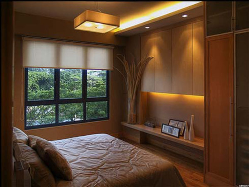 Architecture and interior exterior design master small for Small bedroom lighting ideas
