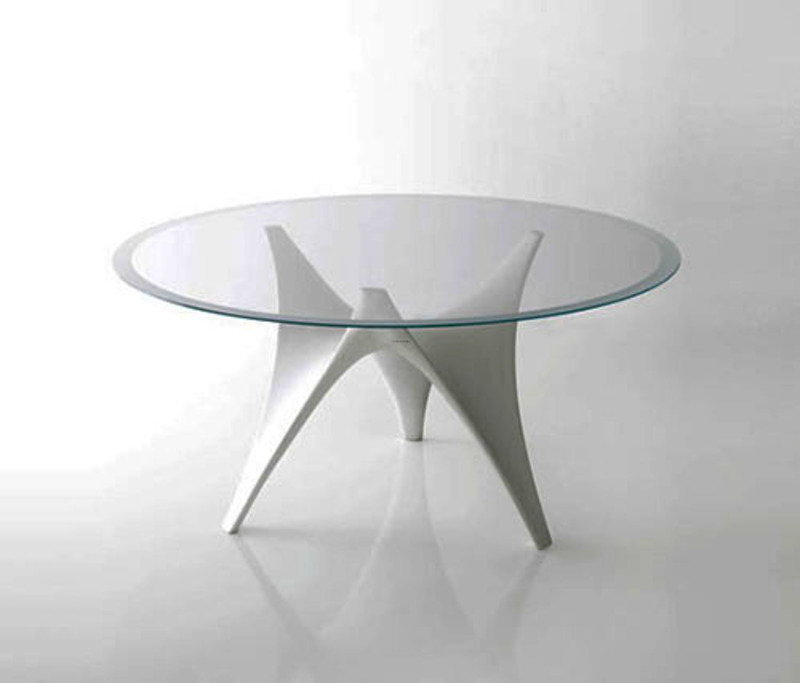 Modern Glass Dining Table Modern Glass Dining Table