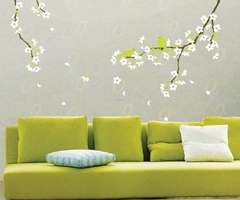 Contemporary Bright Color Wall Stencils And Decals Picture