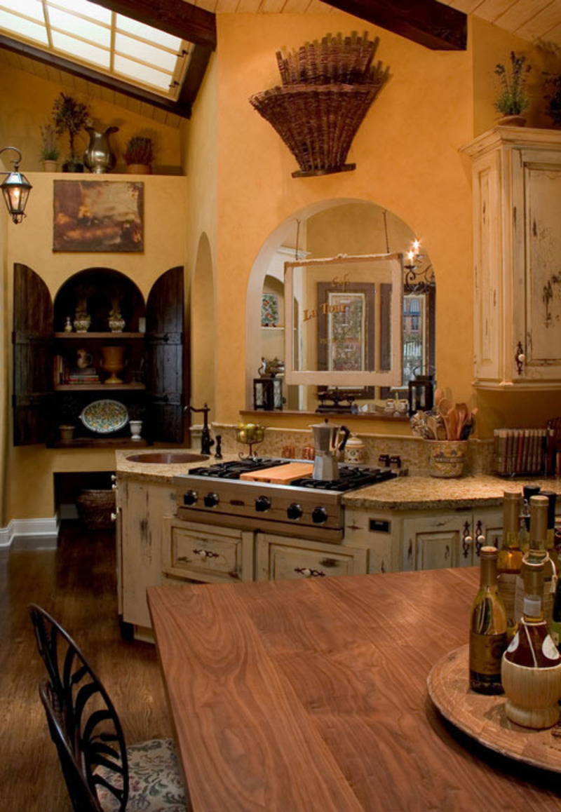 French country home decor design bookmark 13762 for Country kitchen decor