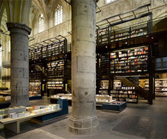 Bookstore Interior Design In The Former Dominican Church By Merkx Girod