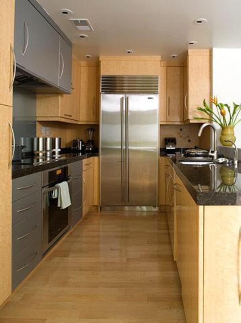 Galley Kitchen Design Photos | Kitchen Layout and Decor Ideas