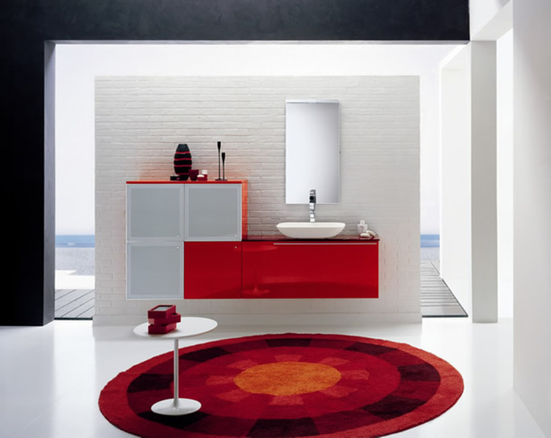 Modern bathroom furniture palladio from stemik living for Ultra modern bathroom designs
