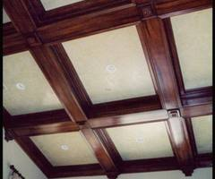 An American Housewife: Coffered Ceilings