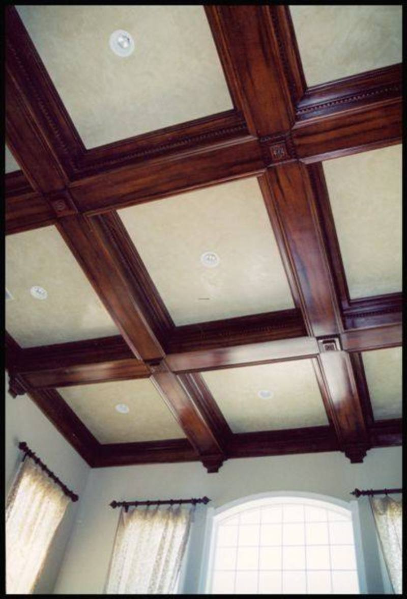 An American Housewife Coffered Ceilings Design Bookmark