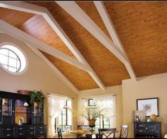 Wood Ceiling Inspiration: Hgtv'S – Sarah'S House