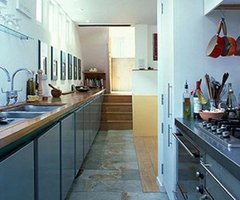 Simple Kitchen » Galley Kitchen Interior Design