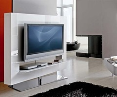 White Tv Stands And Cabinets, Bonaldo From Go Modern