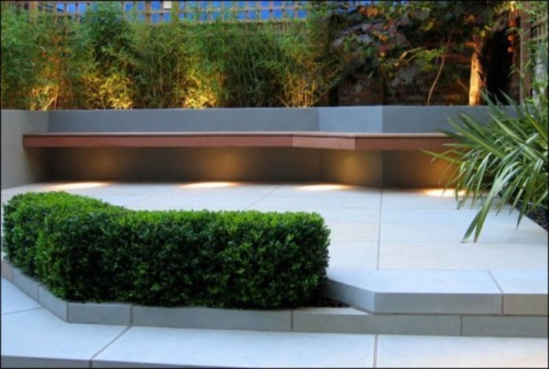 Modern garden design landscape photograph modern landscapi for Modern backyard landscaping