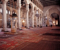 Ommayad Mosque Interior, Damascus, Syria Photos