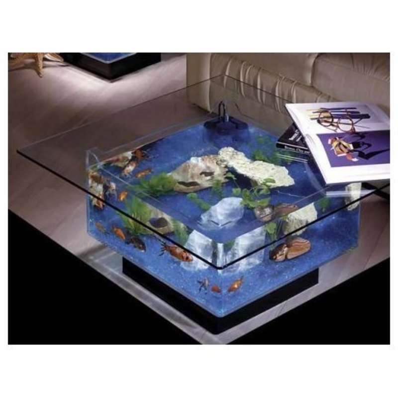 Coffee Table Fish Tank, Cool Coffee Table Fish Tanks Aquarium Design
