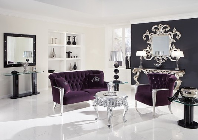 Incredible Purple and Silver Living Room 800 x 565 · 86 kB · jpeg