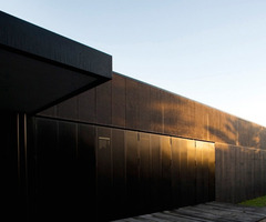 Luxurious And Black Theme Modern Architectural Building Design