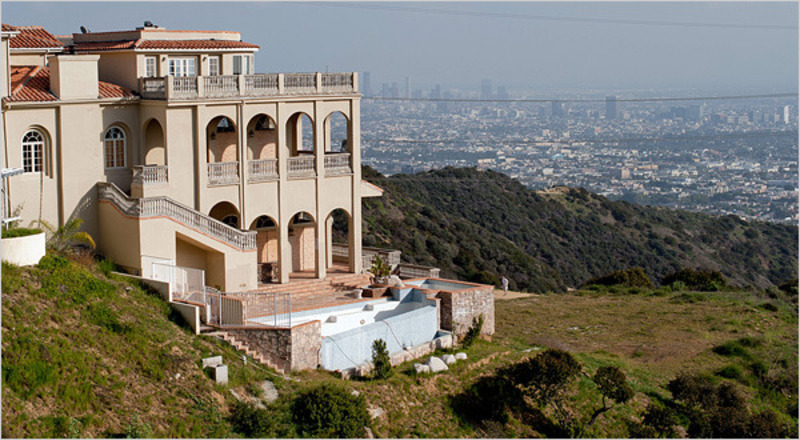 Old Hollywood Mansions Endearing With Abandoned Hollywood Mansion Picture