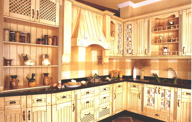 Spanish Kitchen Pictures, Classic And Minimalist Concept For Spanish Kitchen Cabinet Model
