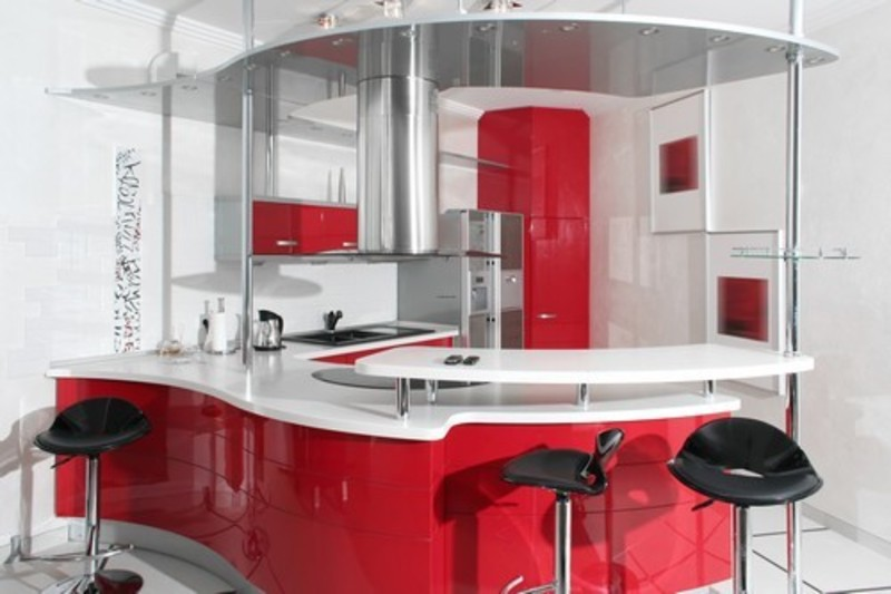 Red Kitchen Decorating Ideas, Red Kitchen Decor  / Pictures Photos Galleries For House Home Design Ideas