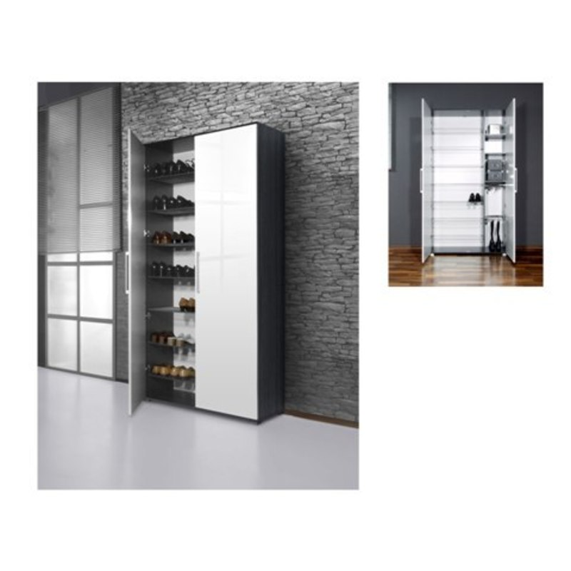 Shoe Storage Cabinet With Doors, Shoe Organizer Cabinet