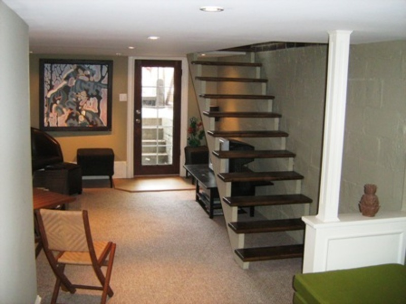 Basement Stairs Design: Basement Staircase Ideas / Design Bookmark #14000