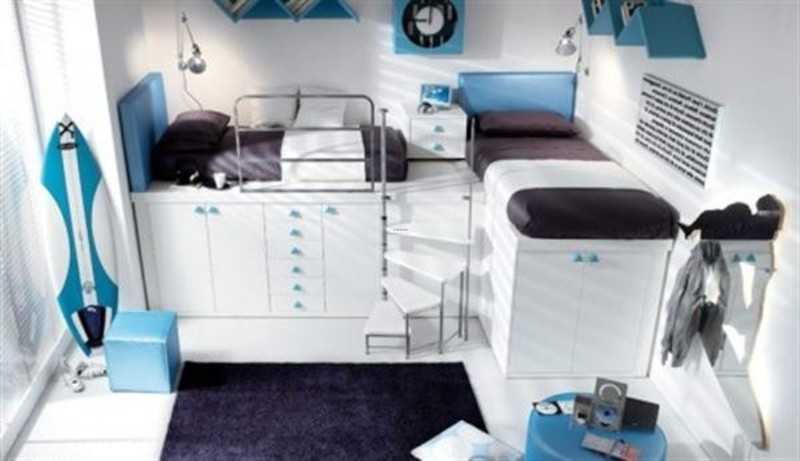 Kids Bunk Bed Loft Design, 10 Elegant Loft And Bunk Beds Design For Kids And Teenager